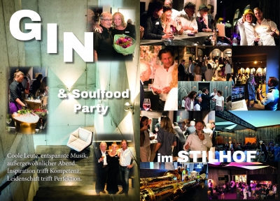Gin & Soulfood Party im Stilhof